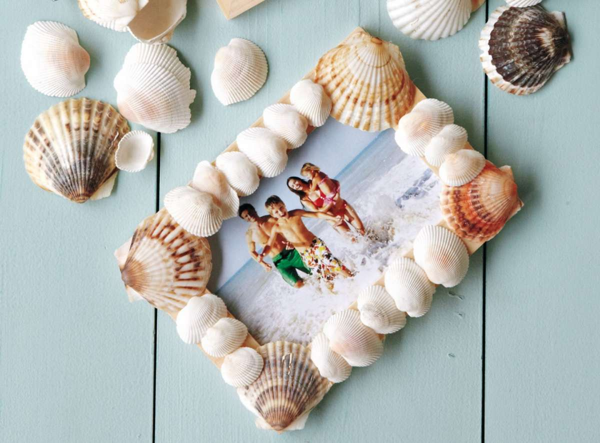 Idee lavoretti con le conchiglie di mare