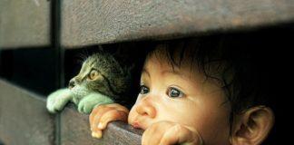 sviluppo emotivo del bambino stimolato dalla vicinanza di un animale