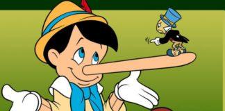 Pinocchio non dire le bugie: dove finisce la fantasia ed inizia la bugia