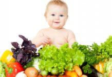 bambino vegetariano