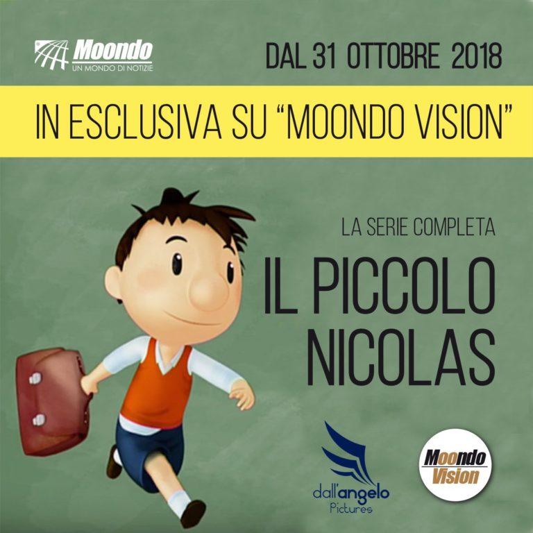 Il Piccolo Nicolas: in esclusiva su Moondo Vision la serie completa!