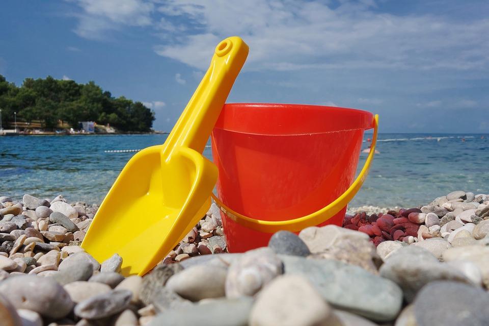 Giochi da fare in spiaggia con i bambini